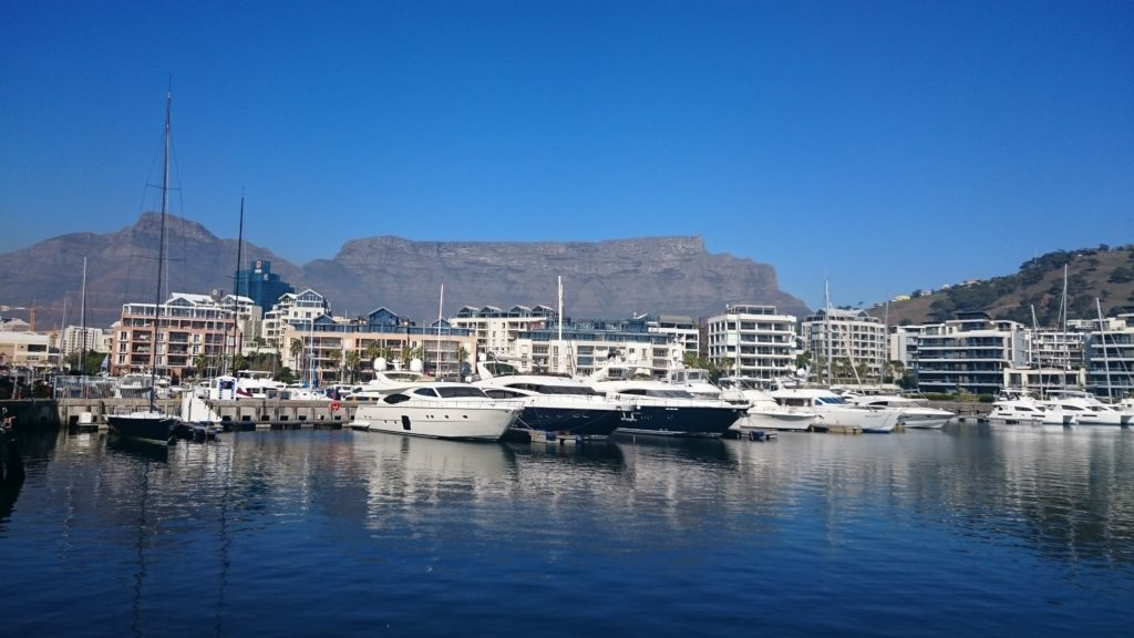 charter boats in Cape town